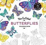 Butterflies: Color In; De-stress - 72...