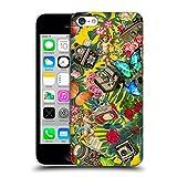 Offizielle Mark Ashkenazi Tropische Spass Vintage Gelb Banana Leben Ruckseite Hülle für Apple iPhone 5c