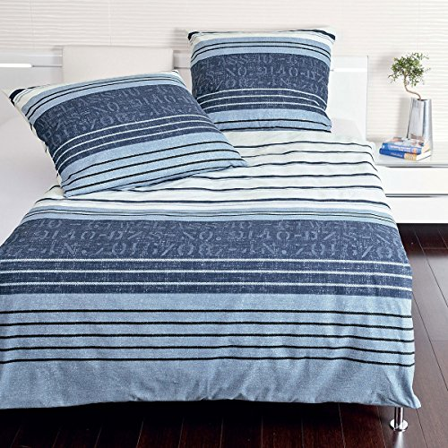 Janine Design Mako-Satin Bettwäsche Palermo 31030-02 135x200 cm + 80x80 cm