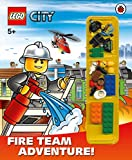 LEGO City: Fire Team Adventure! Storybook with minifigures and accessories