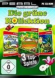 PEARL Spiele PC: Die grüne Kollektion - 3 Vollversionen im Paket (Computerspiel CD)