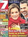 7 Tage 51 2014 Letizia Zeitschrift Magazin Einzelheft Heft
