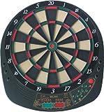 Best Sporting Exeter Elektronische Dartscheibe Mit 12 Dartpfeilen Und Ersatzspitzen LED Dartautomat Mit Netzteil