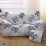 Matratzenschonbezüge Sofa 2-Sitzer mit Blume bedruckt elastisch für Sessel 2Sitze Dekoration des Hauses und Wohnzimmer, Branche, 2-Sitzer
