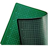 ECOBRA - 704530 Profi Cutting-Mats 5-lagig in 45x30cm - Grün/Schwarz