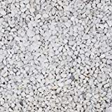 Quarzkies Marmorsplitt Zierkies Quarz Ziersplitt Buntkies Weiß - 5Kg