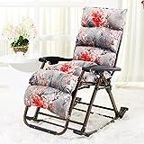 Brisk- Liegestühle Sessel Klappbarer Mittagspausenstuhl Wicker Stuhl Schütteln Sie Den Stuhl Balkon Beiläufig Schaukelstuhl (Farbe : 1007)