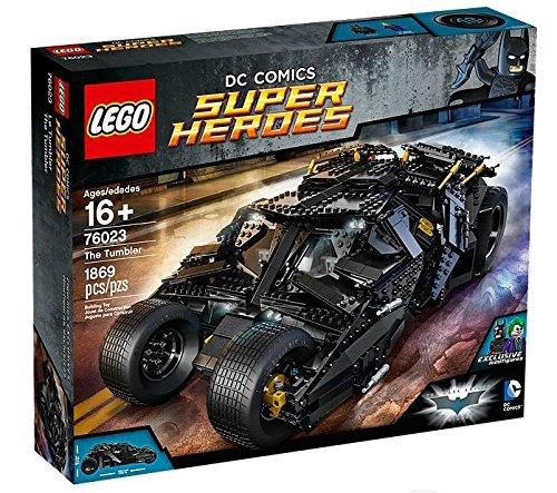 LEGO - Batmobile à construire - Le Tumbler - Super Heroes