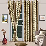 Cenizas Fancy Polyster Door Curtain 1 Pi...