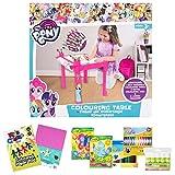 Little Helper - Tavolo da colorare con rotolo di carta 5m, pastelli jumbo e caramelle artigianali
