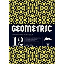 Geometric, Volume 16. Grandes feuilles de papier cadeau de haute qualité.
