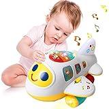 EARSOON CoolToys Mon Premier Avion Jouet pour tout-petits et bébés pour apprendre les lettres, les chiffres et les couleurs -