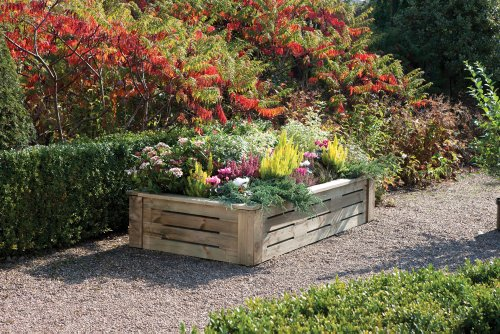 Rowlinson 6 x 3ft Raised Planter