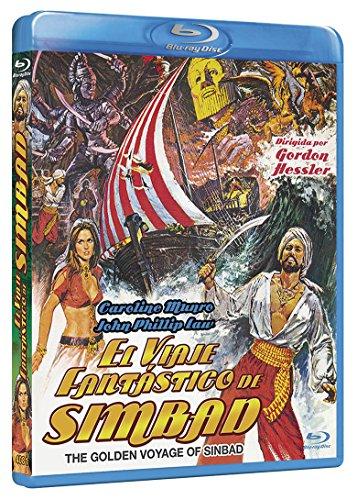 El Viaje Fantástico de Simbad  BD 1973 The Golden Voyage of Sinbad [Blu-ray] 61pxGsraasL
