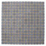 Specialist Crafts - Mosaici in vetro, 20 mm, confezione da 225 pezzi, colore: Grigio scuro