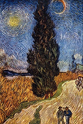 Das Museum Outlet - The Cypress Road von van Gogh - A3 Poster