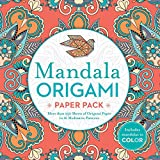 #6: Mandala Origami Paper Pack: More Than 250 Sheets of Origami Paper in 16 Meditative Patterns