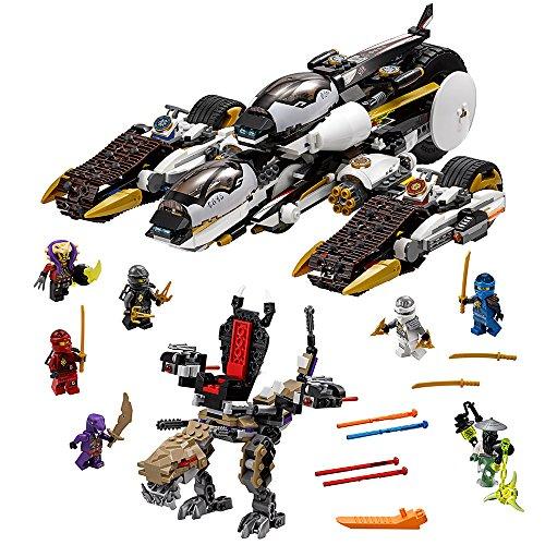 LEGO Ninjago 70595 Ultra Stealth Raider Building Kit (1093 Piece) by LEGO