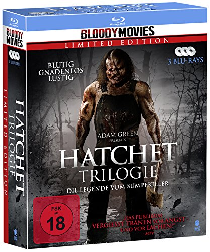 Hatchet Trilogie (Bloody Movies) [Blu-ray]
