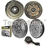 NATIONWIDE CLUTCH DISC DRIVEN PLATE AND PRESSURE PLATE AND LUK DUAL MASS FLYWHEEL AND CSC (4 PART KIT) 8944780117386