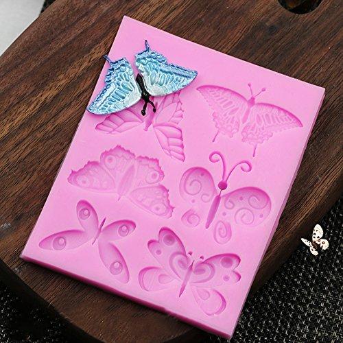 okolade Candy Silikon-Backform für Kuchen Dekoration ()