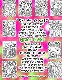 Une Vie De Chat: Livre De Coloriage 22 Surréaliste Creative Artistique Dessins Faits À La Main