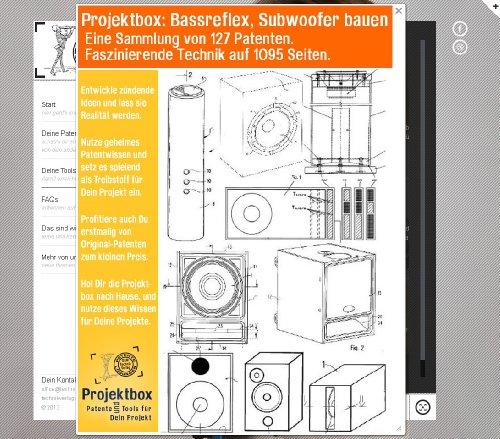 Bassreflex, Subwoofer bauen: Deine Projektbox inkl. 127 Original-Patenten bringt Dich mit Spaß hinter die Geheimnisse der Technik! -