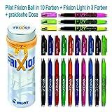Pilot Frixion Dose mit 10 Frixion Ball + 3 Frixion Light