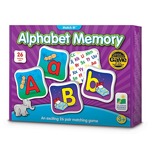 The Learning Journey 192474 Match It Memory Alphabet Game