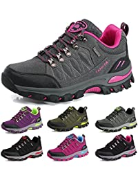 BOLOG Chaussures de Randonnée Outdoor Hommes Basses Trekking Promenades Sports Sneakers Femme Antichoc Antidérapant Chaussures