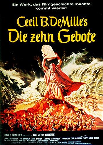 Die zehn Gebote (1956)   original Filmplakat, Poster [Din A1, 59 x 84 cm]