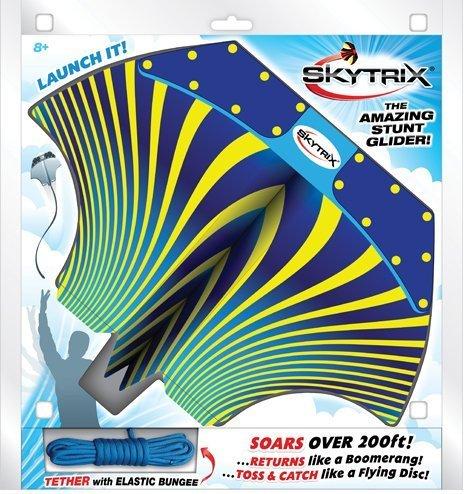 Skytrix Stuntglider - der Wurfgleiter zum Werfen, Fangen und Schleudern