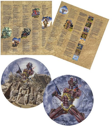 Somewhere Back in Time-the Best of 1980-1989 [Vinyl LP] (Iron Maiden Picture Disc Vinyl)