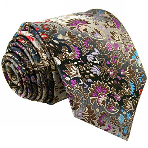 shlax & Wing Hombre corbata, y de flores multicolor multicolor multicolor X-Large