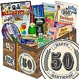 50. Geburtstag | DDR Geschenkkorb | 50. Geburtstag Geschenkset