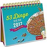 53 Dinge, die du 2017 tun solltest: Tischkalender mit Wochenkalendarium