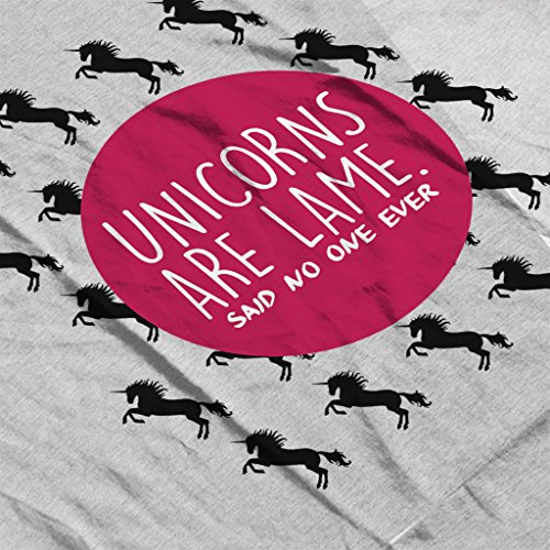 Unicorns Are Lame Said No One Ever Women's Vest Heather Grey