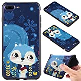 Nancen Compatible with Handyhülle iPhone 7 Plus / 8 Plus Gemaltes Muster Handy Hülle Weich TPU Silikon Case