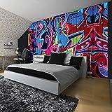 Fototapete Fototapeten Tapete Tapeten Wandbild FREESTYLE GRAFFITI 1508 P8