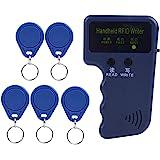 ID-kaart kopieerapparaat, draagbare kopieerapparaatschrijver voor 125 KHz RFID ID-kaart voor toegangscontrole met 5 tags