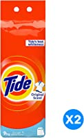Tide Powder Laundry Detergent, Original Scent, 9 KG, Dual Pack