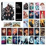 Yovvin 30 Stück BTS Fotokarten, KPOP BTS/EXO/GOT7/NCT/BIG BANG/TWICE/SEVENTEEN/WANNA ONE Photocard, Sammlung und Beste Geschenk für The ARMY und The Fans (NCT)