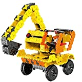 WEofferwhatYOUwant Grua Camión Bloques De Construcción . Rompecabezas 3D para Armar Coches De Juguetes. Figuras Planas . Niños 6 Años En Adelante