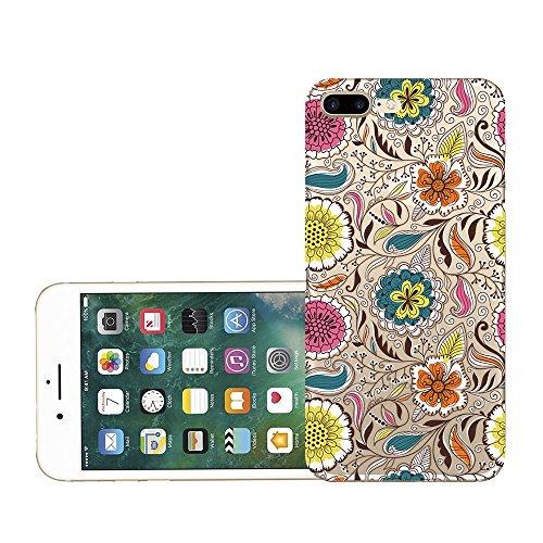 Custodia iPhone 7 plus Qissy® TPU Cover iPhone 7 Plus 5.5 pollici Custodia Bumper Morbida Crystal Clear Silicone elefante per Apple i Phone 7 Plus 12