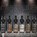 NEBULA kit 6 Aromi TO BACCO line - MADE IN ITALY ... (KIT DA 6)