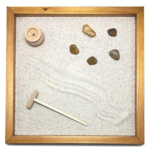 Garten Zen Tisch 25x 252cm von Massivholz Alder handgefertigt Handarbeit–Produkt-Qualität ' (Americana Kirsche)