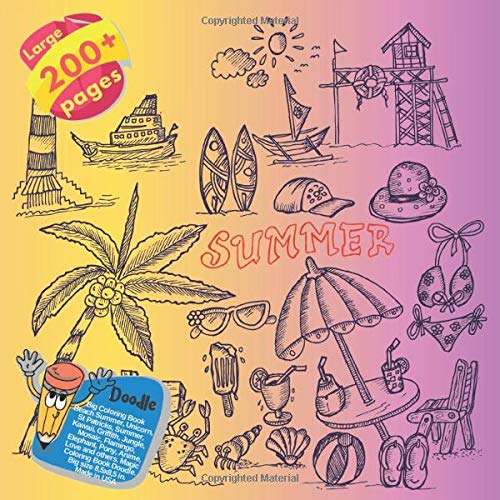 Wella Fashion (Big Coloring Book Beach Summer, Unicorn, St Patricks, Summer, Kawaii, Griffith, Jungle, Mosaic, Flamingo, Elephant, Pony, Anime, Love and others. ... Book Beach Summer and others Doodle, Band 1))