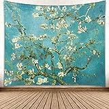 jtxqe Europäischen und Amerikanischen Stil New Moon Moonlight wandbehang malerei Serie Wohnzimmer Dekoration hängen Tapisserie GP15012 230 * 150