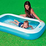 Intex Inflatable Rectangular Pool, Multi Color