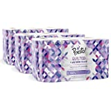 Marca Amazon - Presto! Papel higiénico de 4 capas ACOLCHADO - 36 (3x12) rollos (160 hojas x rollo)- Diseño: Joya